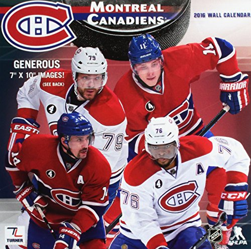 9781469329833: Montreal Canadiens 2016 Calendar