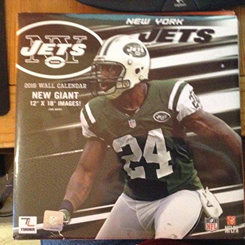 9781469330631: New York Jets 2016 Calendar