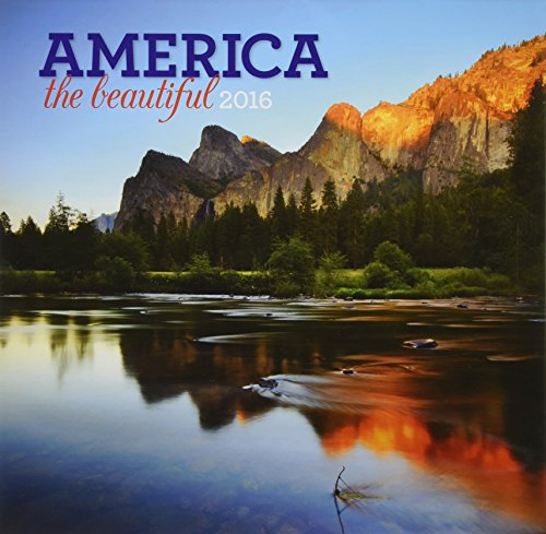 9781469332796: America the Beautiful 2016 Calendar