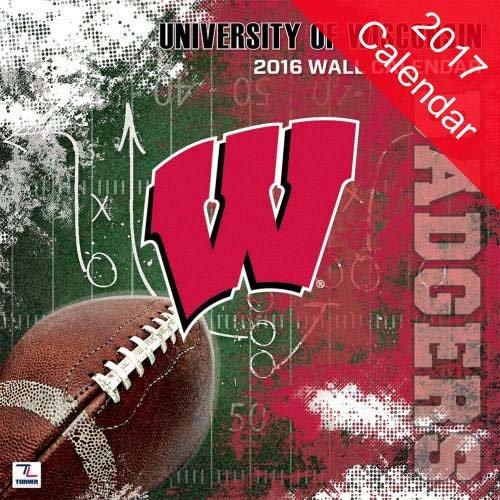 9781469336886: Wisconsin Badgers 2017 Calendar