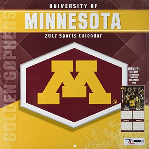 9781469338682: Minnesota Golden Gophers 2017 Calendar