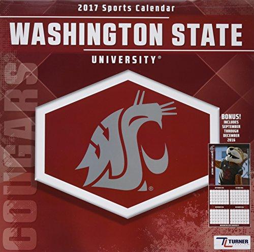 9781469338927: Washington State Cougars 2017 Calendar