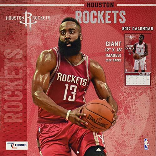 9781469339351: Houston Rockets 2017 Calendar