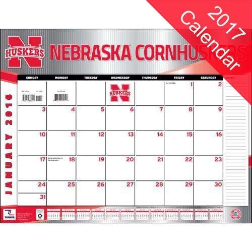 9781469340623: Nebraska Cornhuskers 2017 Calendar