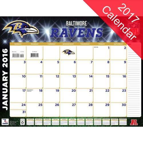 9781469341040: Baltimore Ravens 2017 Calendar
