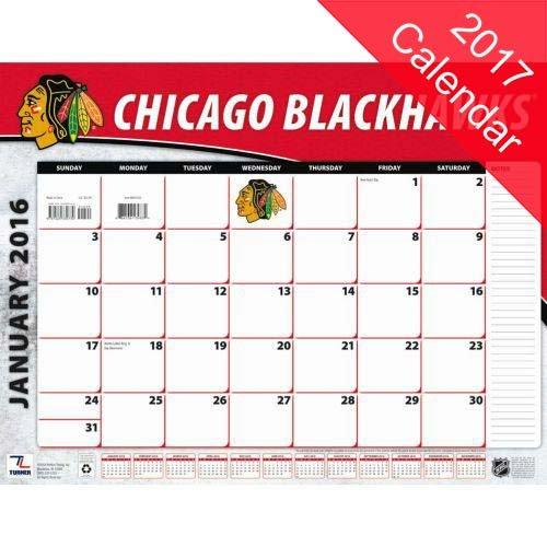 9781469341323: Chicago Blackhawks 2017 Calendar