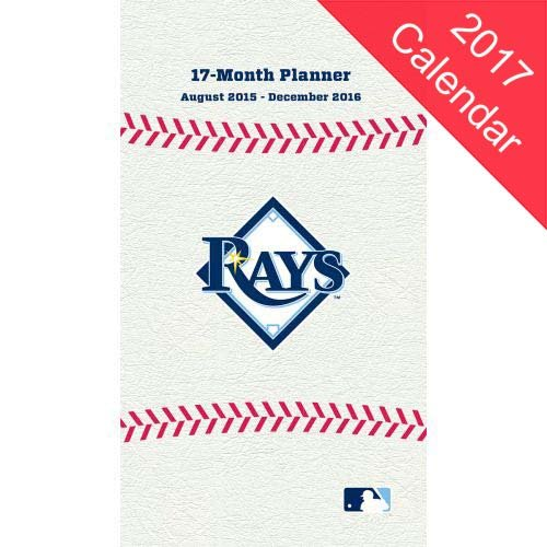 9781469342245: Tampa Bay Rays 2016/17 17-month Planner