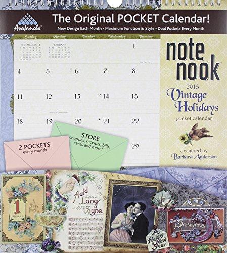 Vintage Holidays Note Nook 2015 Calendar