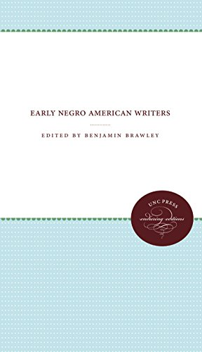 9781469609232: Early Negro American Writers