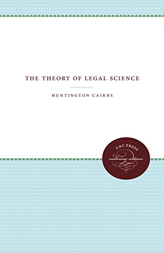 9781469613253: The Theory of Legal Science