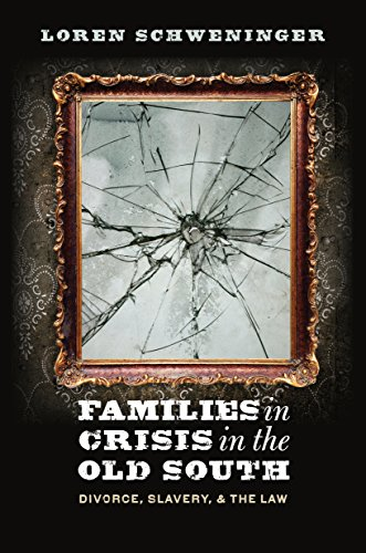 9781469619118: Families in Crisis in the Old South: Divorce, Slavery, and the Law