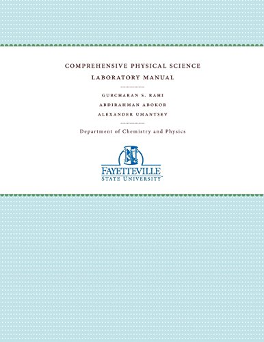 9781469624365: Comprehensive Physical Science Laboratory Manual