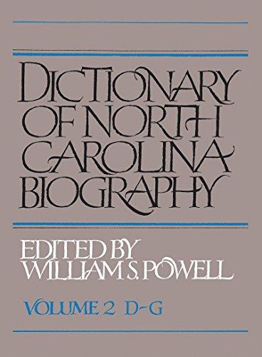 Dictionary of North Carolina Biography: D-g