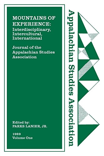 Journal of the Appalachian Studies Association, Volume