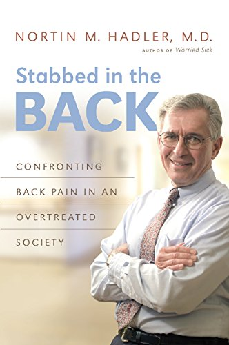 9781469642253: Stabbed in the Back: Confronting Back Pain in an Overtreated Society