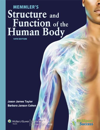 9781469800868: Memmler's Structure and Function of the Human Body 10th Edition Text and Study Guide Package