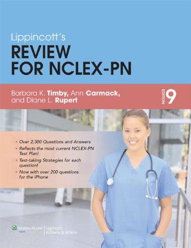 Timby 9e Text plus NCLEX-PN 5000 PrepU: Barbara Kuhn Timby