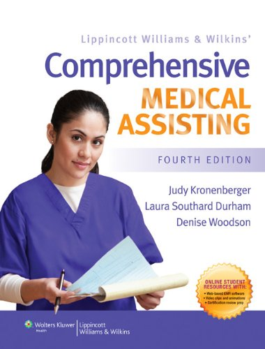 LWW Comprehensive Medical Assisting 4e Text, Study Guide & PrepU Package: Lippincott  Williams ...
