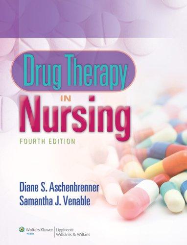9781469822075: Drug therapy in Nursing by Diane S. Aschenbrenner- 4e Text & 24 Month PrepU