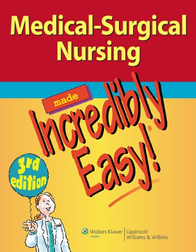 9781469836386: Springhouse 2E; LWW Medical-Surgical Nursing Made Incredibly Easy! 3E Package