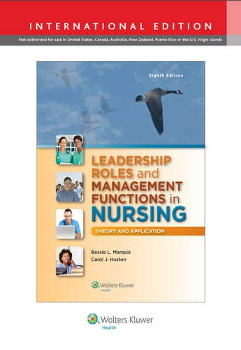 9781469855714: Leadership Roles and Management Functions in Nursing: Theory and Application