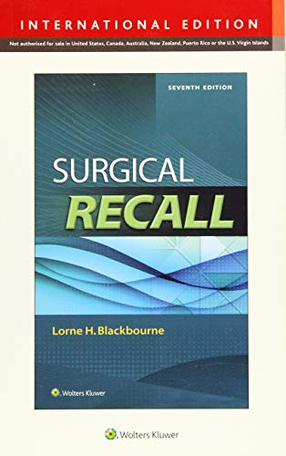 9781469855752: Surgical Recall. International Edition (Recall Series)