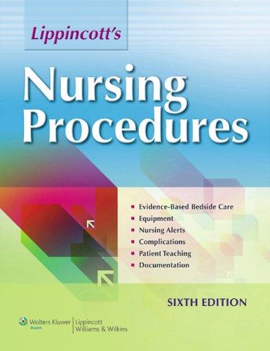 LWW 6e Nursing Procedures Text; Carpenito 14e: Wilkins, Lippincott Williams