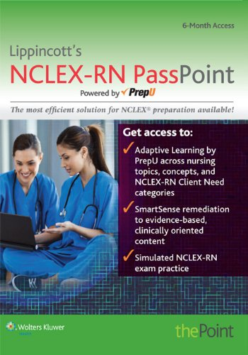 9781469863825: LWW NCLEX-RN PassPoint; plus Marquis 7e Text Package