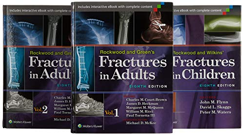9781469871578: Rockwood, Green, and Wilkins' Fractures in Adults and Children Package
