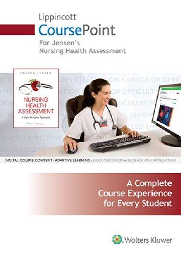 9781469873145: Lippincott Coursepoint for Nursing Health Assessment