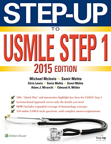 9781469894690: Step-Up to USMLE Step 1 2015