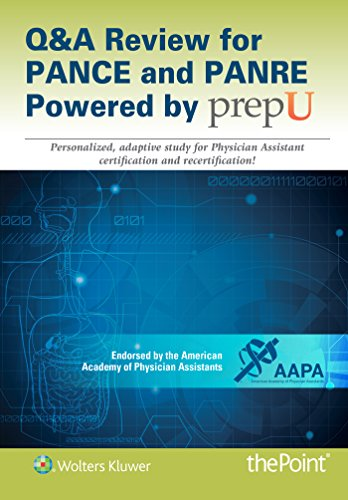 9781469895154: Q&A Review for PANCE and PANRE Powered by PrepU
