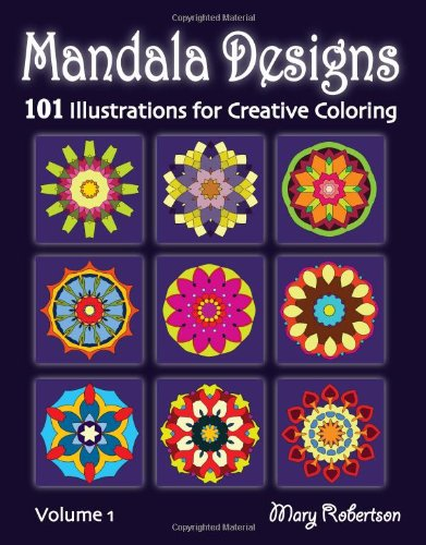 9781469912431: Mandala Designs: 101 Illustrations for Creative Coloring