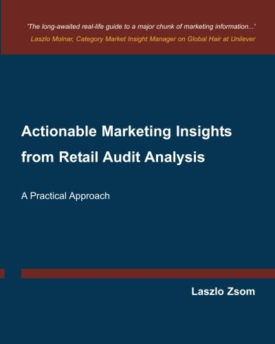Actionable Marketing Insights from Retail Audit Analysis: Zsom, Laszlo