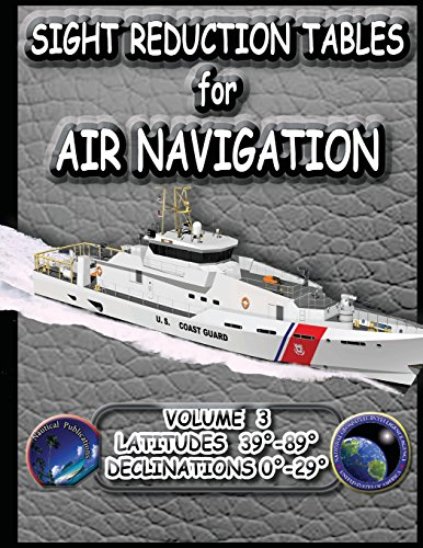 9781469921716: Sight Reduction Tables for Air Navigation Vol 3