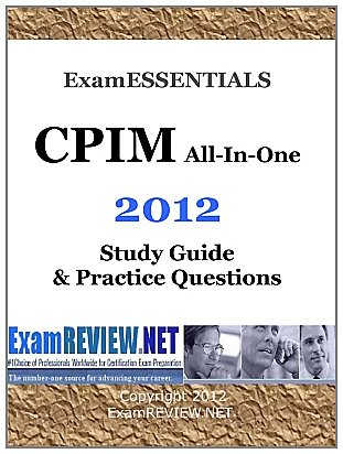 9781469928715: Examessentials CPIM All-In-One 2012: Study Guide & Practice Questions