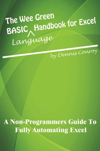 9781469931180: The Wee Green BASIC Language Handbook for Excel
