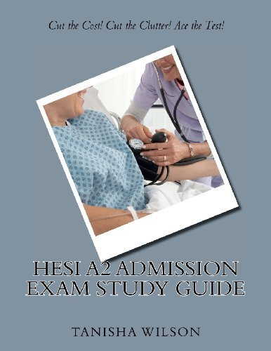 9781469954165: HESI A2 Admission Exam Study Guide