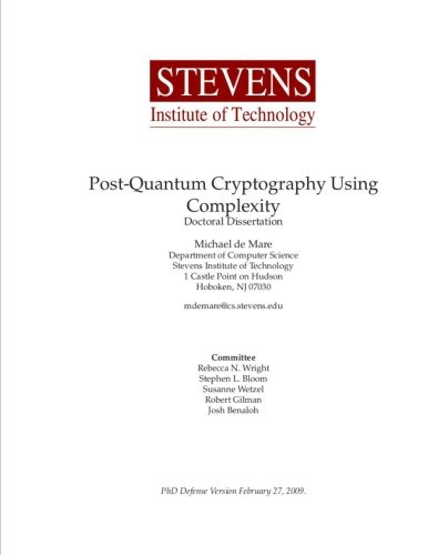 9781469959139: Post-Quantum Cryptography Using Complexity