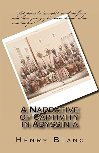 9781469984148: A Narrative of Captivity in Abyssinia