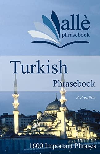 9781470000431: Turkish Phrasebook (allè phrasebook)