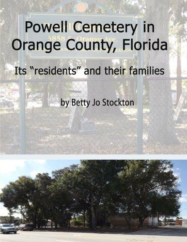 9781470011833: Powell Cemetery: Orange County, Florida 1880-1950
