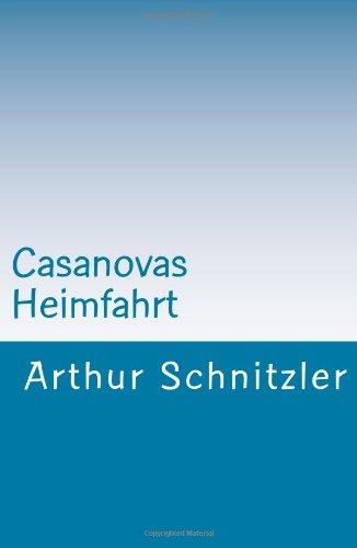 9781470019525: Casanovas Heimfahrt