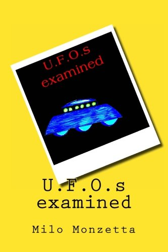 U.F.O.s examined: Milo Monzetta