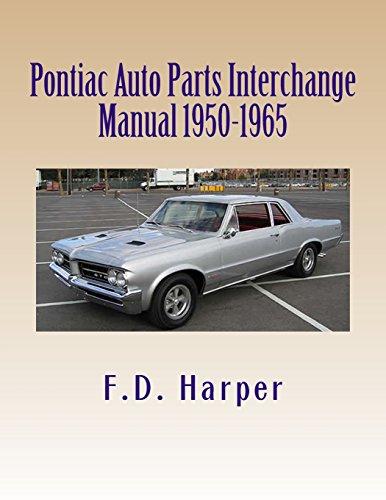 Auto Parts Interchange >> 9781470027384 Pontiac Auto Parts Interchange Manual 1950