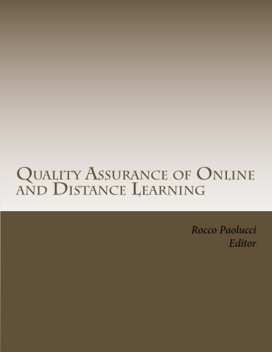 9781470035341: Quality Assurance of Online and Distance Learning
