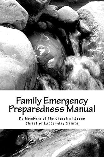 9781470051013: Family Emergency Preparedness Manual
