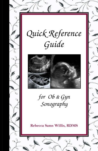 9781470054588: Quick Reference Guide for Ob & Gyn Sonography