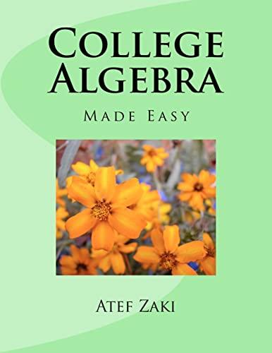9781470071455: College Algebra: Made Easy