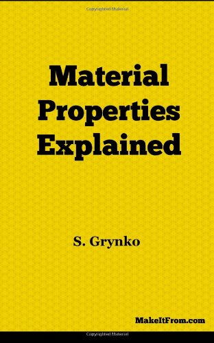 9781470079918: Material Properties Explained